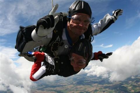 Fallschirmspringen Thalm�ssing