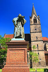 Erfurt Germany, Martin Luther