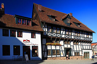 Attractions Eisenach Luther House