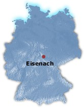 Eisenach map