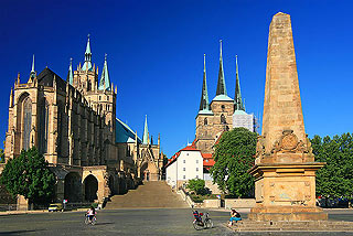 day trip Weimar Germany, Erfurt Dom