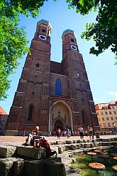 attractions Munich Germany, Frauenkirche