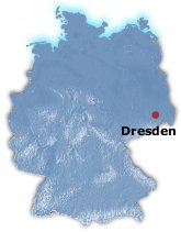 Dresden Germany Map
