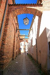 Stralsund Sights Street- Stralsund Germany