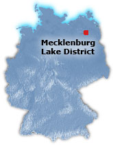 Mecklenburg Lake District Map