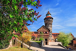 Nuremberg Germany, Castle